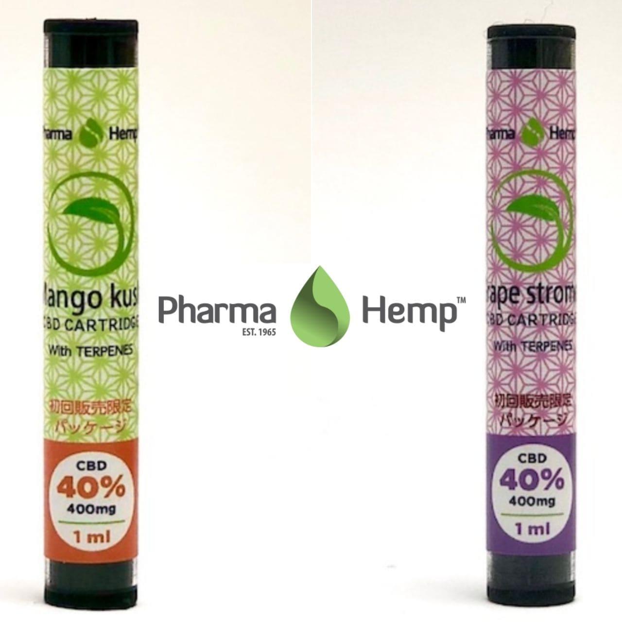 ファーマヘンプ(PharmaHemp) - CBDリキッドカートリッジ400mg/1mlの画像